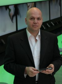 Cliff Crosbie, Global Director of Retail Marketing, Nokia