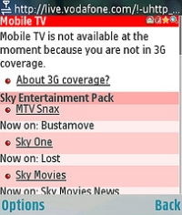 No 3G coverage
