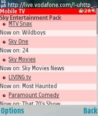 The WAP channel interface