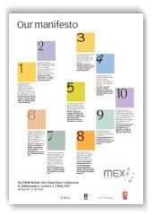 MEX manifesto poster