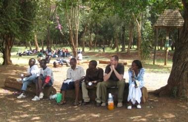JD Moore in Kenya