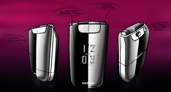 Nokia 6600 design sketch
