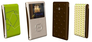 TELUS-OCAD Mobile Phone Project Images